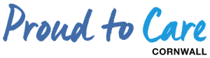 Proud to Care Cornwall Logo